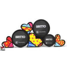 Фоторамка для трех фотографий Britto коллекция Hearts 2
