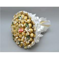 Букет из конфет Золотая стрекоза