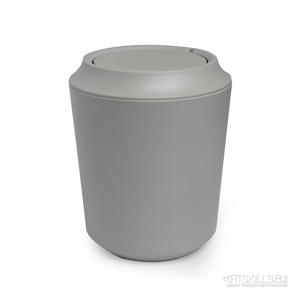 Серая корзина для мусора Fiboo