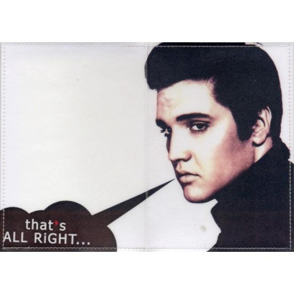 Обложка для паспорта E.Presley