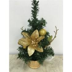 Декоративная настольная ёлочка Рождественская