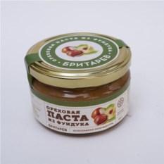 Ремесленная ореховая паста «Бритарев» из фундука