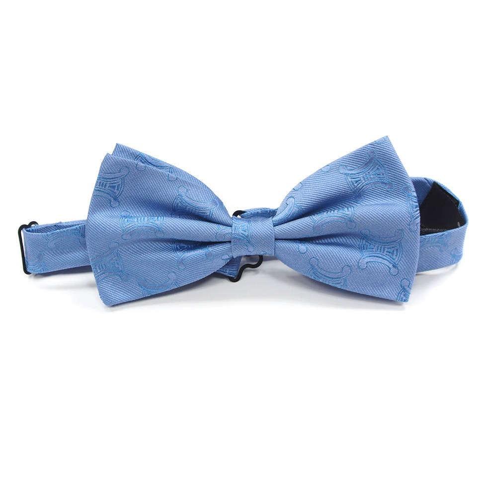 Голубой галстук бабочка Celine