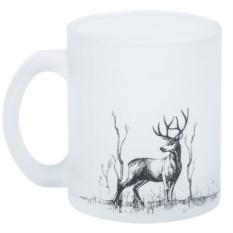 Кружка с изображением оленя Forest