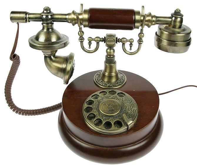 Ретро телефон дисковый Карл IV