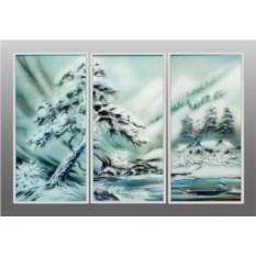 Картина с кристаллами Swarovski Отдых в горах