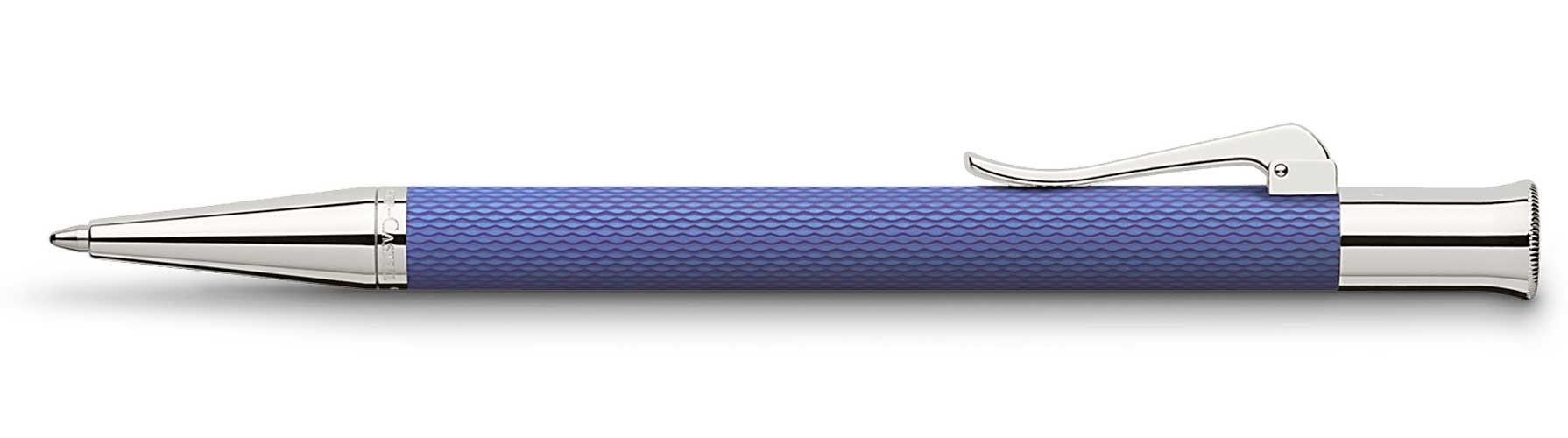 Шариковая ручка Graf von Faber-Castell Guilloche Indigo