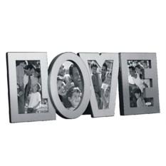 Коллаж из четырех фоторамок Love  Металл
