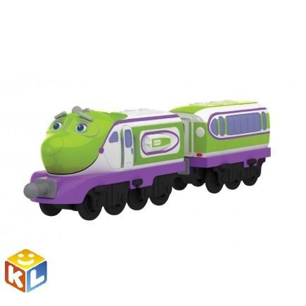 Металлический паровозик Коко с прицепом Chuggington