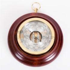 Настенный барометр из массива высококачественной древесины
