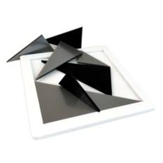 Пластиковая головоломка «Семь в квадрате»