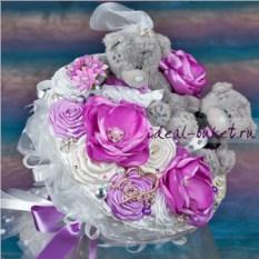 Букет из игрушек Свадебная романтика