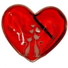 Грелка солевая Сердце