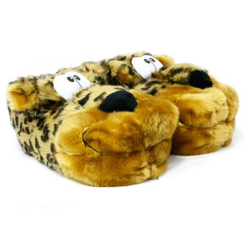 Тапочки-игрушки «Леопард»