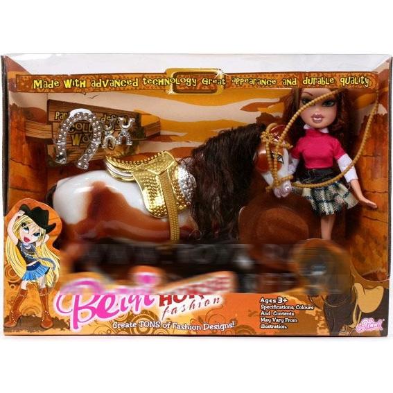 Кукла Bratz с лошадью