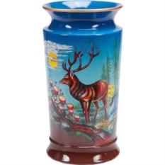 Декоративная ваза Охотничьи мотивы