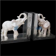 Держатели для книг Два слона