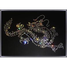 Картина с кристаллами Swarovski «Дракон Большой»