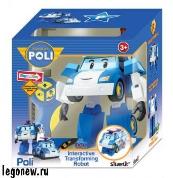 Робот-трансформер Поли на радиоуправлении (Robocar)