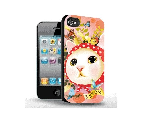 Панель для iPhone «Милый котёнок»