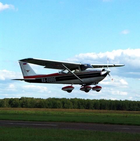Полет на Cessna 172 (30 мин.)