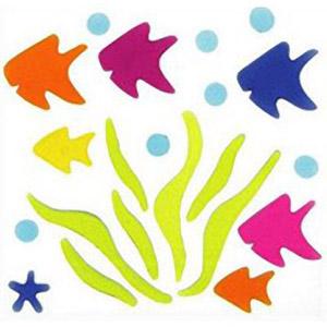 Рыбки в водорослях