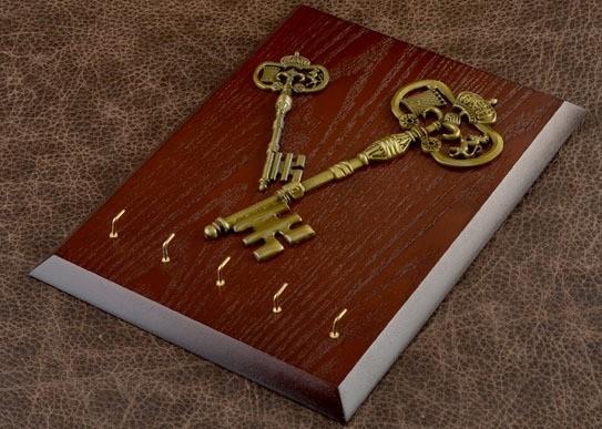 Настенная ключница Ключи к секретам