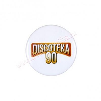 Значок Discoteka 90