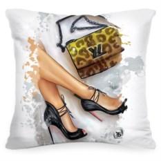 Подушка с принтом Life style