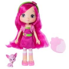Кукла Шарлотта Земляничка Малинка с питомцем