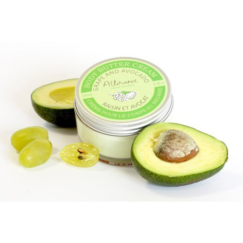 Крем-масло для тела «Виноград-авокадо» Attirance