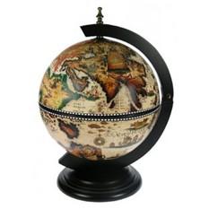 Оригинальный настольный глобус-бар