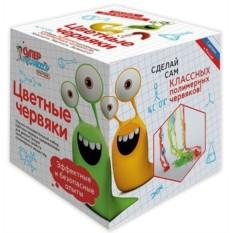 Игровой мини-набор Цветные червяки