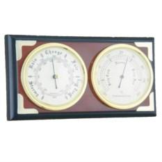 Настенная метеостанция с барометром и термометром