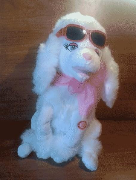 Игрушка Собачка в очках