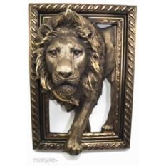 Объемное панно Лев (45х32 см)