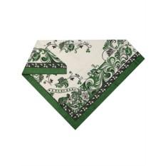 Зеленая скатерть Петух