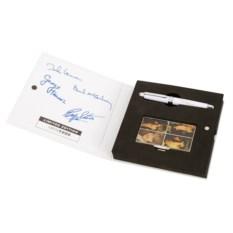 Набор визитница и ручка The Beatles White Album