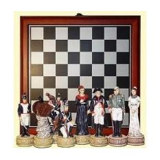 Настольная игра в кейсе Шахматы, Наполеон и Кутузов
