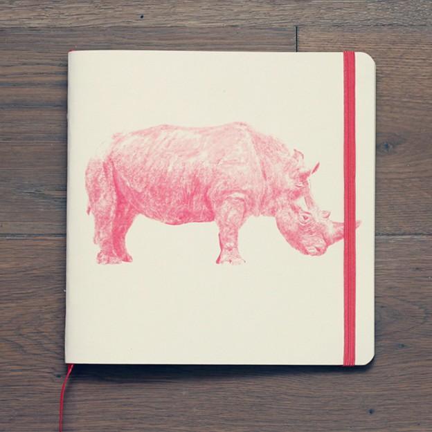 Скетчбук Носорог