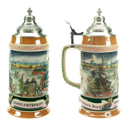 Пивная кружка коллекционная «Санкт-Петербург»
