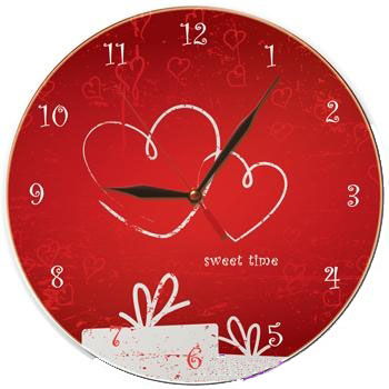 Настенные часы «Про любовь»
