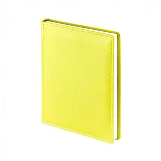 Желтый недатированный ежедневник Velvet