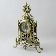 Бронзовые каминные часы Кафедрал