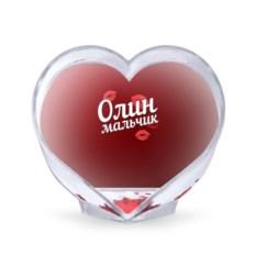 Сувенир-сердце Олин мальчик