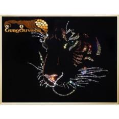Картина  Swarovski Сила и Мудрость 975 кристаллов, 30х40 см