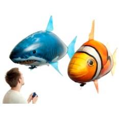 Шар с гелием Летающая рыба