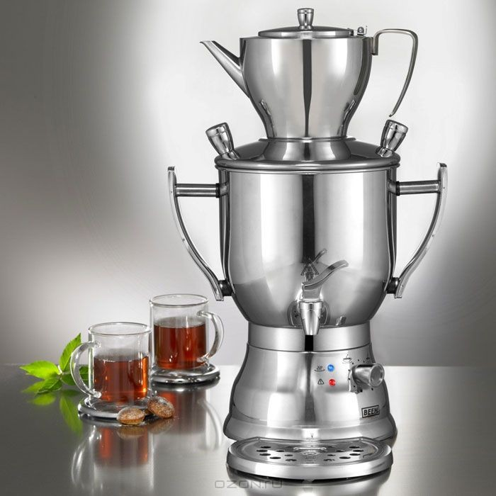 Электросамовар BEEM K3003200 с заварочным чайником