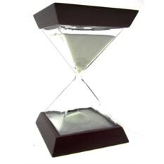 Песочные часы на 15 минут Пирамиды (белый песок)
