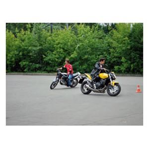 Уроки вождения мотоцикла для двоих (2 часа)